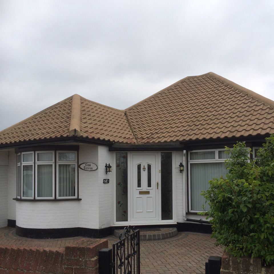 Bungalow BEFORE treatment