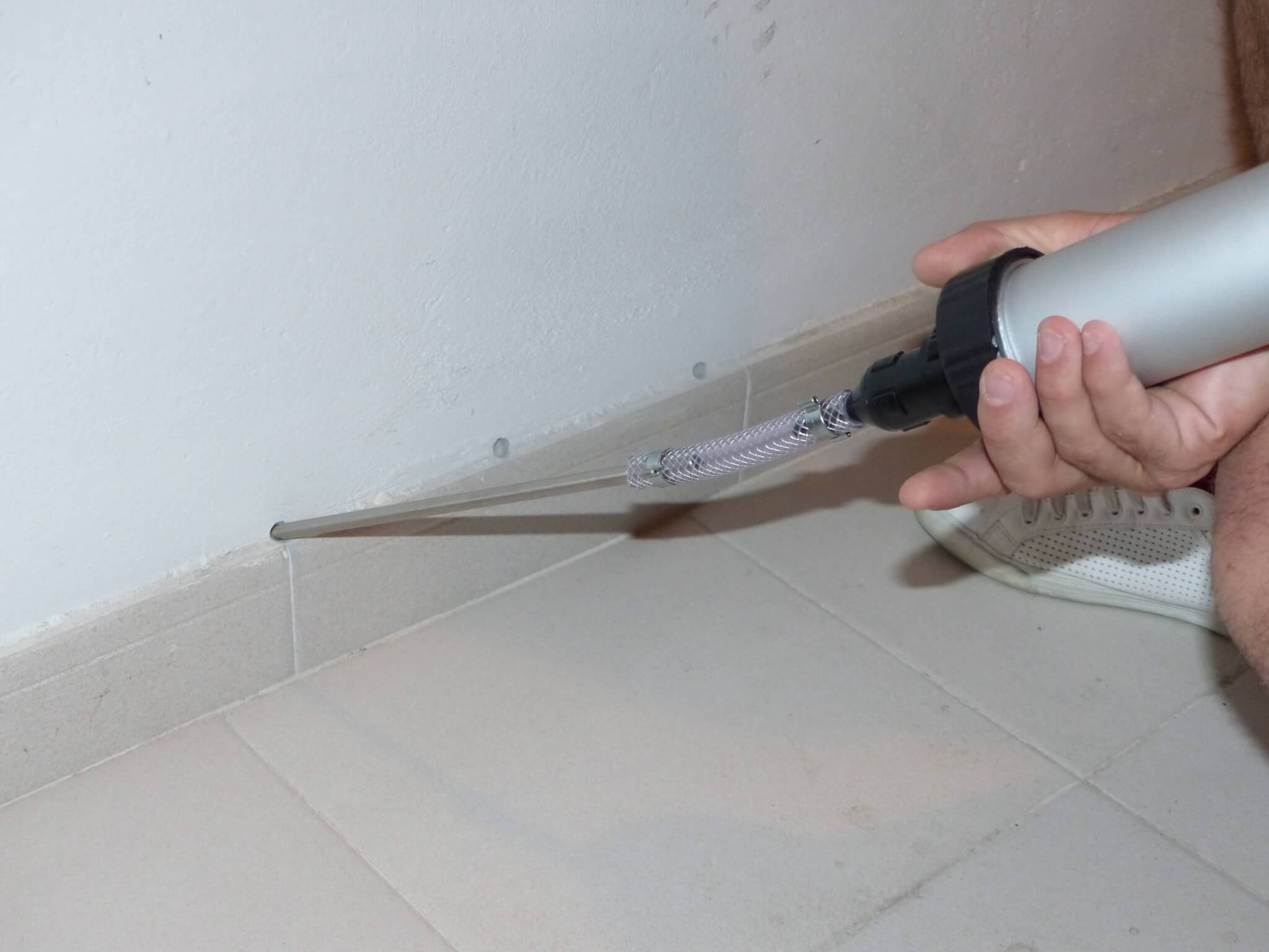 how to check for damp